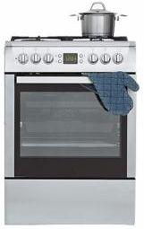beko csm 62320 dx elektroherd mit gas kochfeld kochen backen haushalt preisvergleich. Black Bedroom Furniture Sets. Home Design Ideas