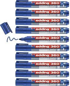 edding 360 Whiteboardmarker blau, 10er-Pack (4-360003#10)