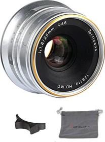 7artisans 25mm 1.8 for Sony E silver