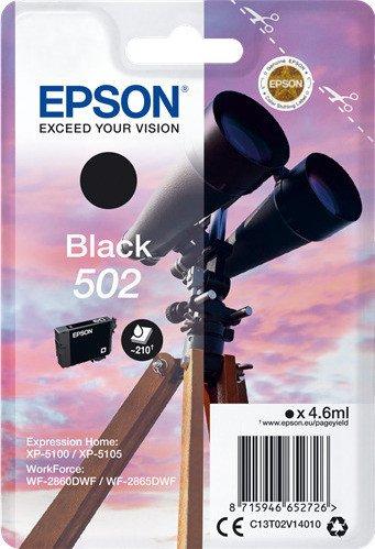 Epson Tinte 502 schwarz (C13T02V14010)