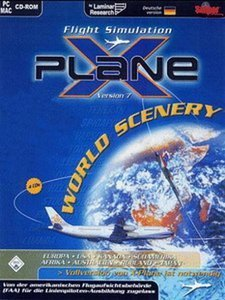 X-Plane Version 7 Worldwide Sceneries (Add-on) (niemiecki) (PC)