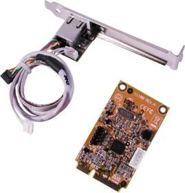 Exsys EX-48030, RJ-45, PCIe Mini Card