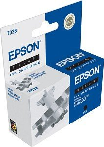 Epson T038 Tinte schwarz (C13T03814A)