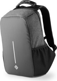 """BoostBoxx BoostBag XL notebook-backpack 17"""", Anti-Theft-Backpack, black/anthracite"""