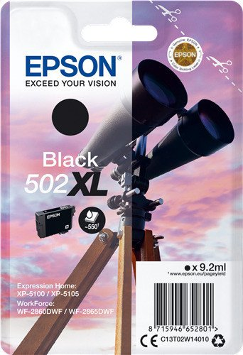 Epson Tinte 502 XL schwarz (C13T02W14010)