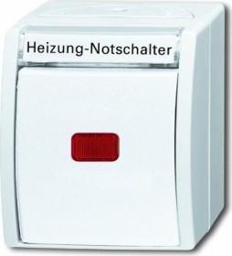 Busch-Jaeger Ocean Wippkontrollschalter, alpinweiß (2601/6 SKWNH-54)