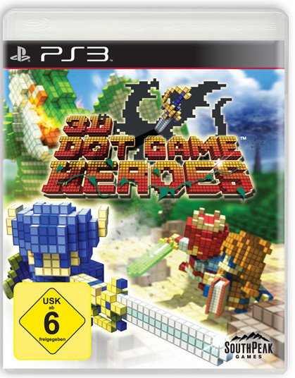 3D Dot Game Heroes (deutsch) (PS3)