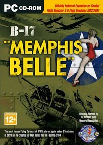 Flight Simulator 2002 - B-17 Memphis Belle (Add-on) (German) (PC)