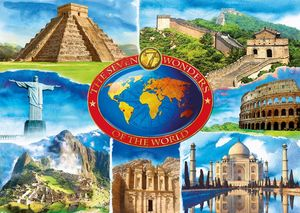 Ravensburger puzzle Seven Wonders of the World (19116)