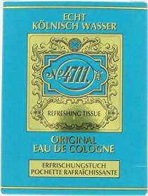 4711 Echt Kölnisch Wasser Erfrischungstücher, 10 Stück