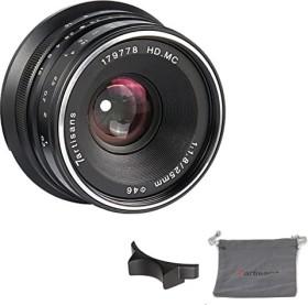 7artisans 25mm 1.8 for Canon EF-M black