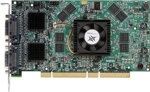 Matrox Parhelia HR256, Parhelia-512, 256MB DDR, 2x LFH60, 64bit PCI (PH-P256HR3D)