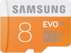Samsung EVO R48 microSDHC 8GB, UHS-I, Class 10 (MB-MP08D/EU)