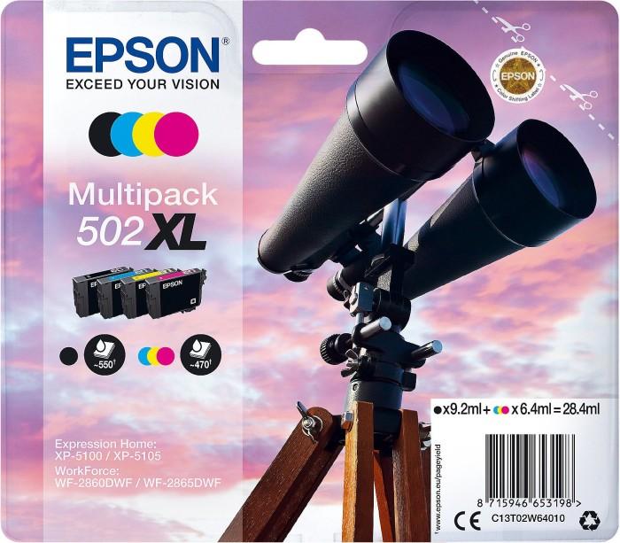 Epson Tinte 502 XL Multipack (C13T02W64010)
