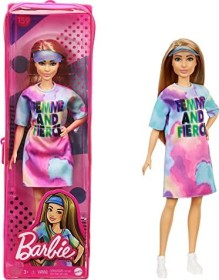 Mattel Barbie Fashionistas Barbie im Tie Dye Kleid (GRB51)