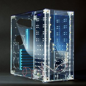 DesignComp DCi CM 42-BL Midi-Tower blue (without power supply) -- © CWsoft