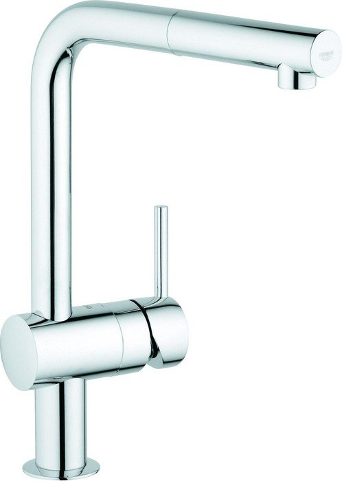 Grohe Minta L-outlet extendible chrome (32168000)