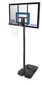 Spalding NBA Highlight Acrylic portable basketball stand (3001654010942)