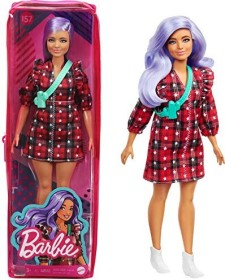 Mattel Barbie Fashionistas Barbie im karierten Kleid (GRB49)