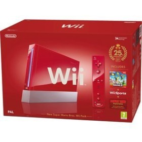 Nintendo Wii Special Edition New Super Mario Bros. Bundle rot