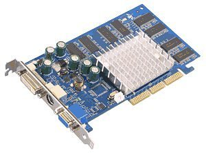 Albatron FX5200EQ, GeForceFX 5200, 256MB DDR, DVI, TV-out, AGP