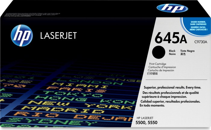 HP Toner 645A black (C9730A)