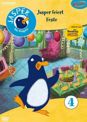 Jasper der Pinguin Vol. 4: Jasper feiert Feste -- via Amazon Partnerprogramm
