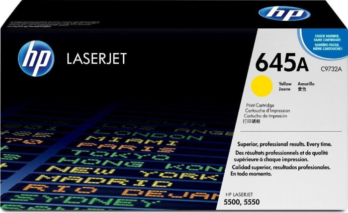HP Toner 645A yellow (C9732A)