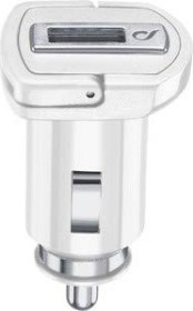 Cellularline USB car Charger 5W white (MICROCBRUSBIPHW)