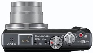 Panasonic Lumix DMC-TZ22 blue