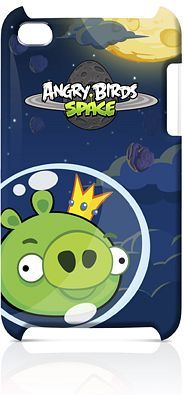 Gear4 Angry Birds Space King Pig iPod Touch 4 Case (TCAS406G) -- www.gear4.com