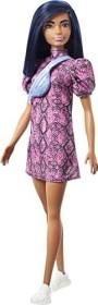 Mattel Barbie Fashionistas Barbie im Schlangenmuster Kleid (GXY99)