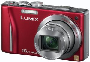 Panasonic Lumix DMC-TZ22 red