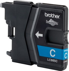 Brother Tinte LC985C cyan