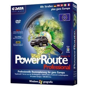 GData  Software: Powerroute 10.0 professional (German) (PC) (5711)