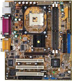 ASUS P4S533-VM, SiS651 [PC-2700 DDR]