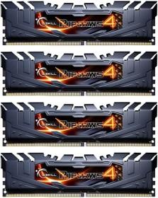 G.Skill RipJaws 4 schwarz DIMM Kit 16GB, DDR4-2800, CL16-16-16-36 (F4-2800C16Q-16GRK)