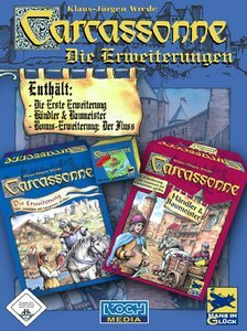 Carcassonne - Die Erweiterungen (Add-on) (niemiecki) (PC)
