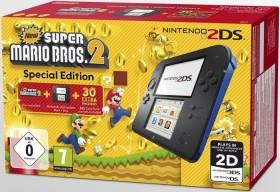 Nintendo 2DS New Super Mario Bros. 2 Special Edition Bundle schwarz/blau