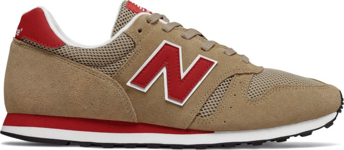 New Balance ML373 tan/red (Herren) (ML373SHR)