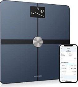 Withings Body+ electronic body analyser scale black