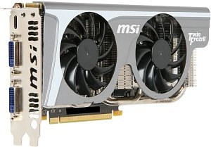 MSI N560GTX-Ti Twin Frozr II/OC, GeForce GTX 560 Ti, 1GB GDDR5, 2x DVI, mini HDMI (V238-059R)