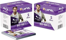 Xlyne BD-RE 25GB 2x, 5-pack Jewelcase (8J05001)