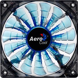 AeroCool Shark Fan Blue Edition, 140mm (EN55468)
