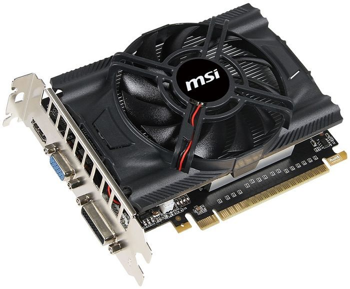 MSI N650-1GD5/OCV1, GeForce GTX 650, 1GB GDDR5, VGA, DVI, HDMI (V809-285R)
