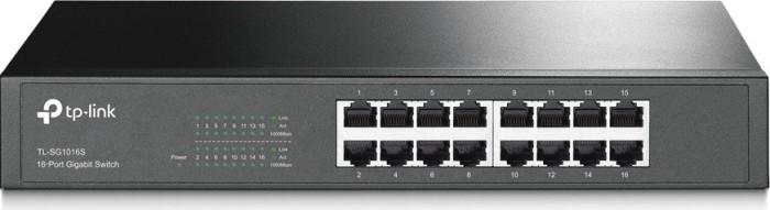 TP-Link TL-SG1000 Desktop Gigabit Switch, 16x RJ-45 (TL-SG1016S)