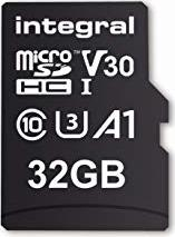 Integral High Speed R100/W30 microSDHC 32GB Kit, UHS-I U3, A1, Class 10 (INMSDH32G-100V30) -- via Amazon Partnerprogramm