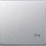Merten System M Wippe Thermoplast edelmatt, aluminium (MEG3303-0460)
