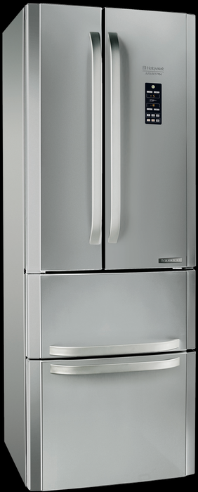 Hotpoint Ariston Quadrio E4DG AAA X O3 French Door Preisvergleich ...
