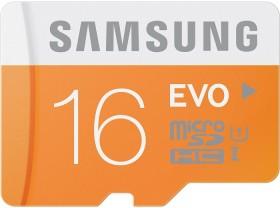 Samsung EVO R48 microSDHC 16GB, UHS-I, Class 10 (MB-MP16D/EU)